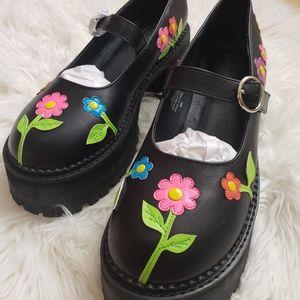 Delias floral Mary Janes